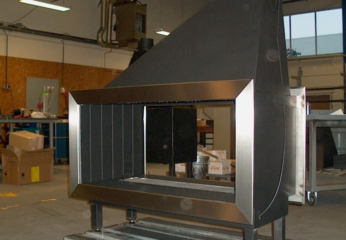 Netach Sheet Metal Fireplace