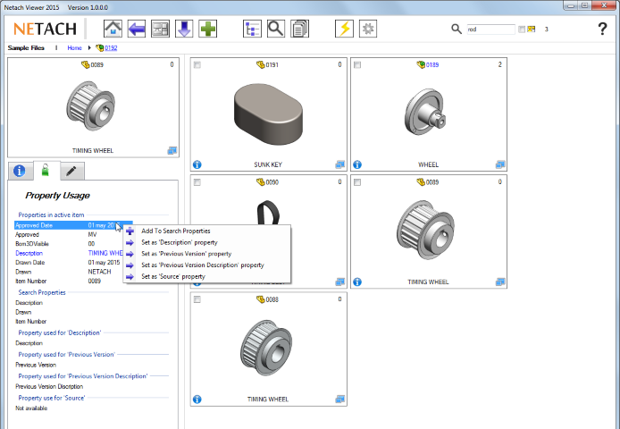 Netach Viewer SolidWorks extension