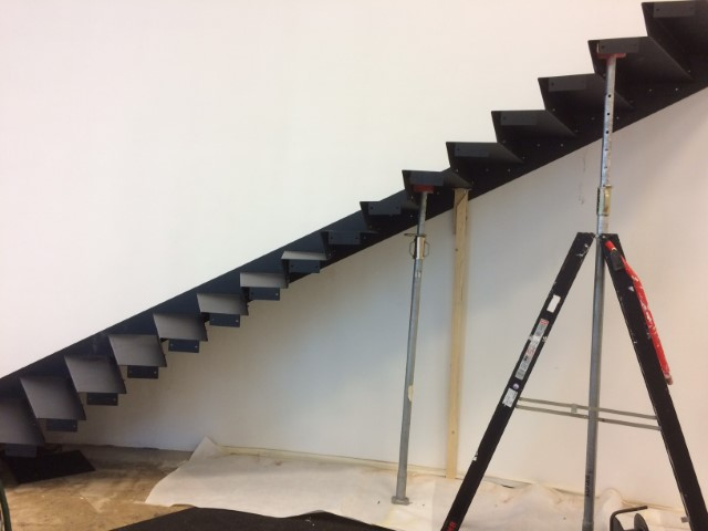 Netach Engineering Steel staircase - Sheet Metal Design