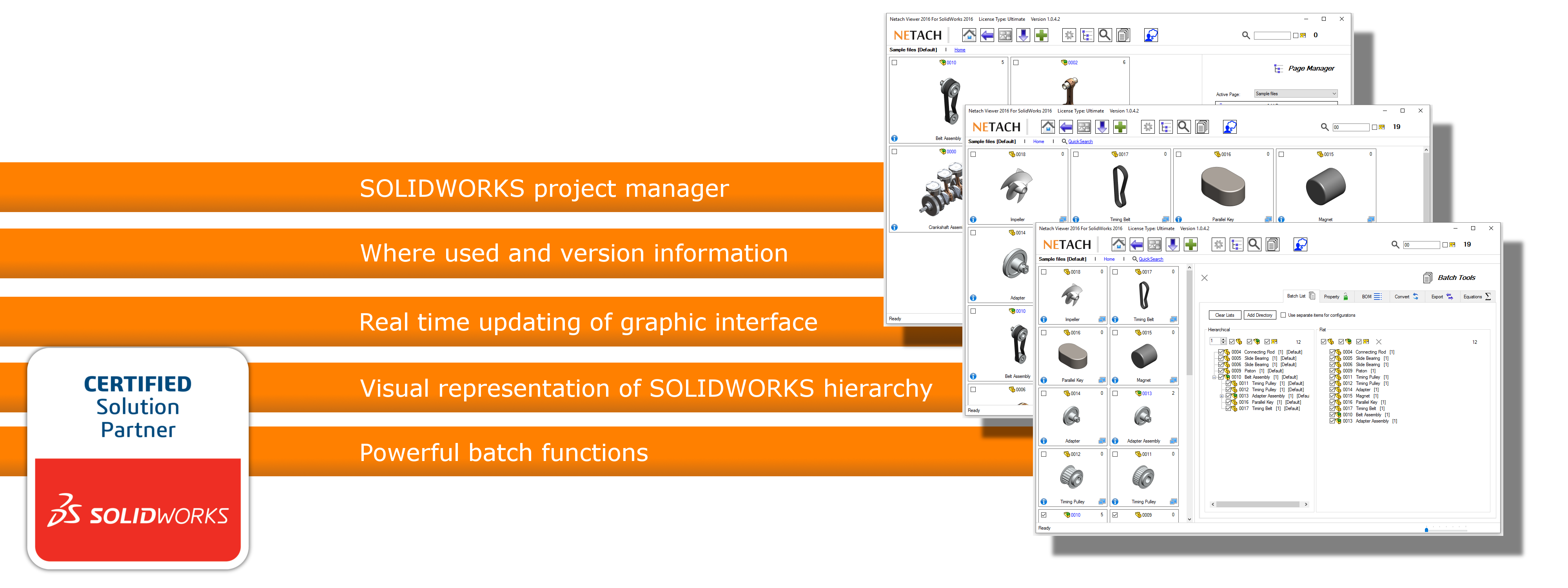 Netach Viewer 2017 SOLIDWORKS certified solution partner